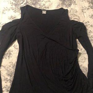 Venus draped shoulder top